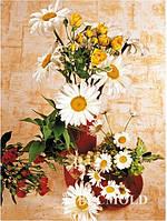 """Набор для творчества """"Алмазная картина цветы в вазе"""""""