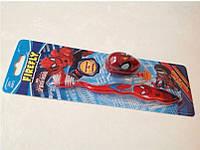 Детская зубная щетка Spiderman с колпачком