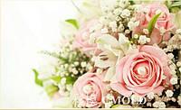 """Набор для рисования камнями """"Свадебные розы"""""""