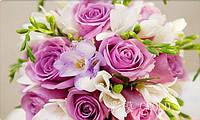 """Набор для алмазной мозаики """"Букет роз для невесты"""""""
