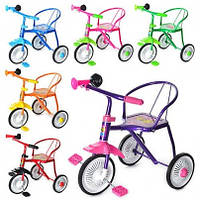 Велосипед  3 колеса,6 цветов: