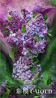 """Набор для рисования камнями """"Цветы сирени в чудесной вазе"""""""