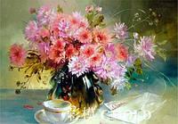 "Набор для рисования камнями ""Картина с цветами в вазе"""