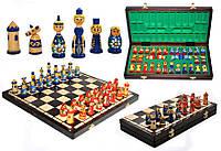 Шахматы настольные из дерева Matreshki Матрешки