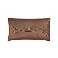Кошелек-конверт кожаный