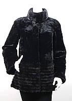Полушубок из мутона и норки 97108-1