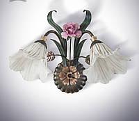 Бра в стиле флористика 2 ламповое
