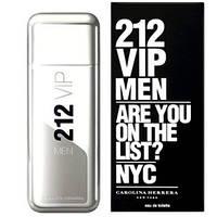 Мужская туалетная вода Carolina Herrera 212 Vip Men 50ml