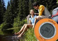 Цифровой компас (6 в 1) SR108S : метеостанция, термометр, альтиметр, часы, компас, шагомер
