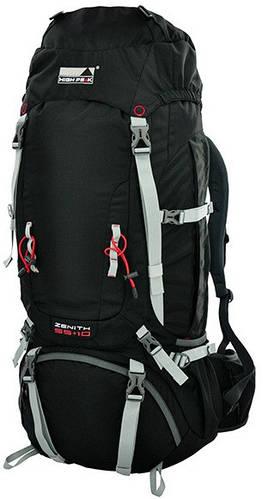 Туристический рюкзак 55+10 л. High Peak Zenith 55+10, 921778 черный