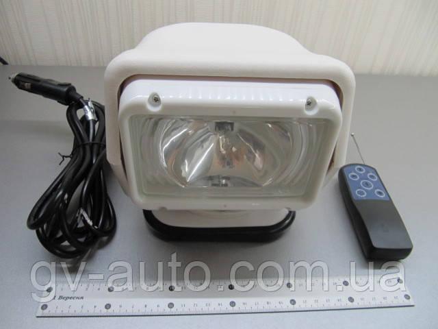 Фара искатель СH-015 HID55W, ксенон 55Вт ― 4300 люмен, радиоуправляемая на магните , белый корпус