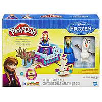 Пластилин Плей до Холодное сердце Приключения на санках Play-Doh Sled Adventure Featuring Disney's Frozen