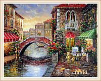 """Набор для рисования камнями """"Венеция"""" по мотивам Л. Афремова"""