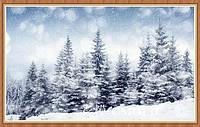 """Алмазная живопись набор """"Елки под снегом"""""""