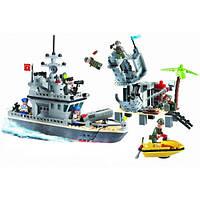 """Детский конструктор """"Военный корабль"""" Brick 819"""