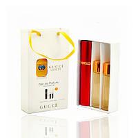 Мини парфюм Gucci Guilty (Гуччи Гилти) с ферамонами + 2 запаски, 3*15 мл.