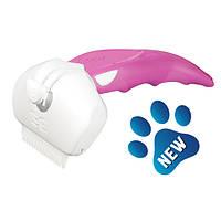 FoOlee (Фуллии) Easee Small Дешеддер Фоли Изи маленький фурминатор для удаления шерсти собак и кошек 4,5 см