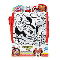 Сумка Раскраска Почтальон Minnie Mouse Color me mine Simba 6375387