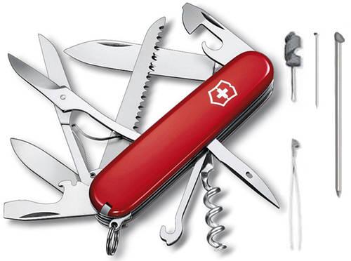 Складной армейский нож Victorinox Huntsman 13715 красный
