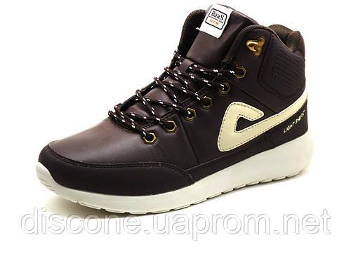 Кроссовки мужские BaaS Adrenaline, высокие, коричневые