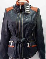 Куртка женская кожзам батал