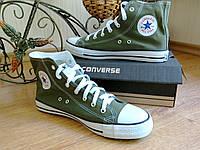 Кеды Конверс Converse ALL STAR Высокие Хаки Конверсы В наличии