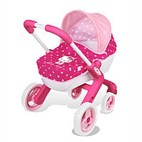 Коляска с люлькой для куклы Hello Kitty Smoby 521334