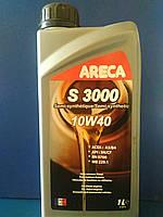 Моторное масло ARECA S3000 10W-40 (1л) для бензиновых или дизельных двигателей