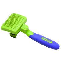 "Safari (Сафари) Li""L Pals Self-Cleaning Slicker сликер пуходерка самоочистка щенков и собак малых по"
