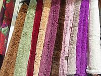 Плед ворсистый евро-размер разные цвета