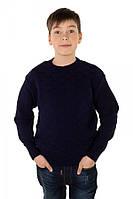 Свитер тёплый нарядный для мальчика школьный