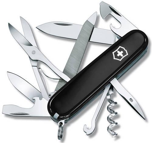 Функциональный складной нож Victorinox Mountaineer 13743.3  черный