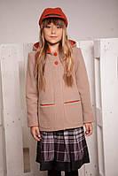 Демисезонное полупальто для девочки от 6 до 12 лет
