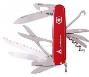 Офицерский надежный складной нож Victorinox Ranger 13763.71 красный