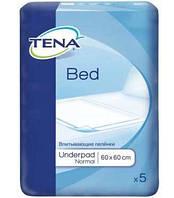 Одноразовые пеленки TENA Bed Normal 60х60 5шт.