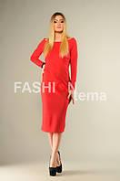 Платье женское Бант красное