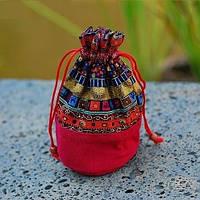 Сумочка-кошелёк женский в этническом стиле