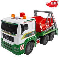 Машинка грузовик с контейнером Dickie 3336104