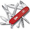 Удобный швейцарский складной нож Victorinox Fisherman 14733.72 красный