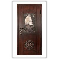 Двери входные МДФ ПВХ Vinorit – Дуб + патина 4 цвета замок Mottura 54 797 Steelguard™ модель S-22 SHIP
