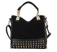 Сумка с шипами. Стильная сумка. Молодежная сумка. Женская сумка. Недорогая сумка. Купить сумку. Код: КЕ59-1