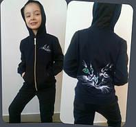 """КОСТЮМ"""" Котята"""" брюки и куртка. код 582 ММ"""