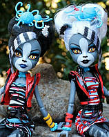 Набор кукол Monster High Мурсефона и Мяулодия (Meowlody & Purrsephone) Зомби Шейк Монстер Хай Школа монстров