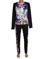 Женский модный спортивный костюм 3 цвета , фото 1