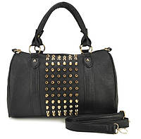 Эффектная сумка с шипами. Стильная сумка. Модная сумка. Недорогая сумка. Купить сумку. Код: КЕ64