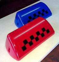 Плафон световой для машин такси (крышки шашечек)