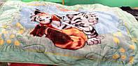 Детское акриловое одеяло-покрывало-плед
