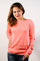 Пуловер джемпер кофта кофточка персик неон размер 46-48 AL2
