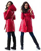 Стеганное   пальто  женское