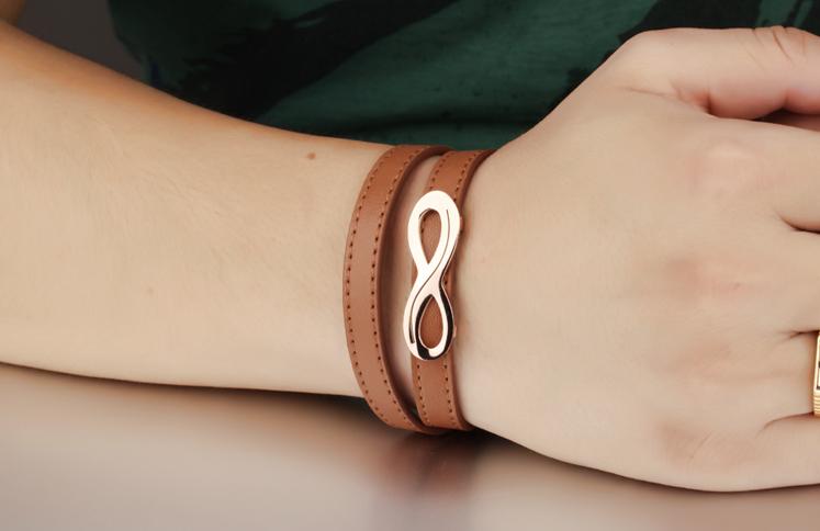 браслеты для влюбленных пар со знаком бесконечности